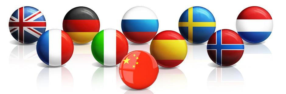 Taalcursussen in 10 verschillende talen